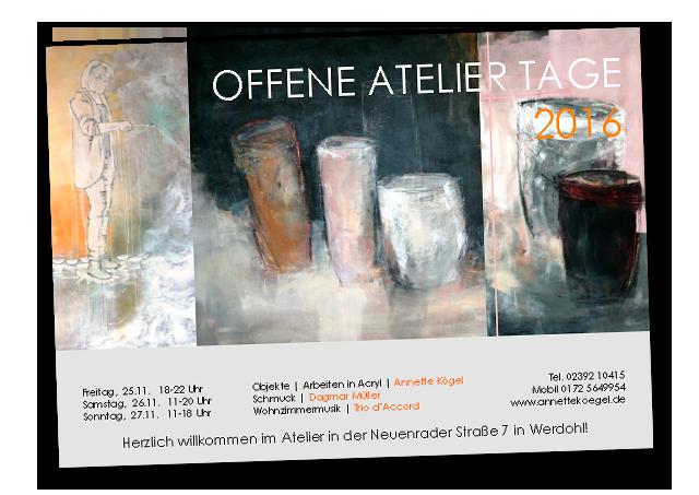 Offene Ateliertage 2016